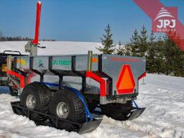 ATV-Skianhänger für ATV