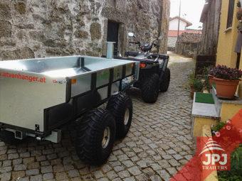 ATV Trailer Arbeiter und Arbeits Quad