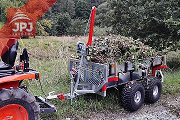 ATV-trailer und Kleinschlepper