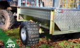 ATV Anhänger Gärtner - Raddetail